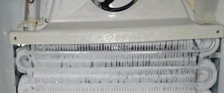 گرم شدن یخچالفریزر